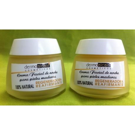 Crema facial de noche para pieles maduras
